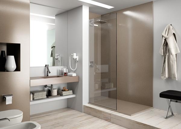 Parete doccia Silestone Bathroom