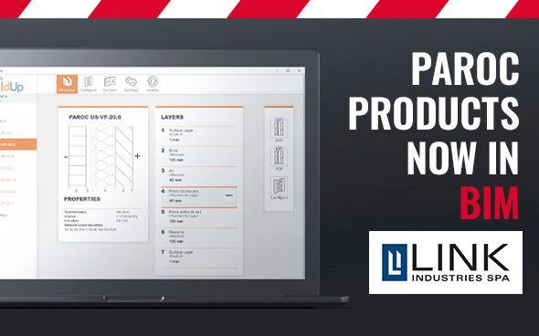 Paroc products in BIM