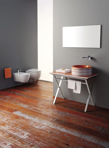 Serie parquet di olympia ceramica - Parquet in bagno ...