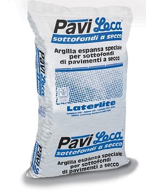PaviLeca - argilla espansa per sottofondi di pavimenti a secco