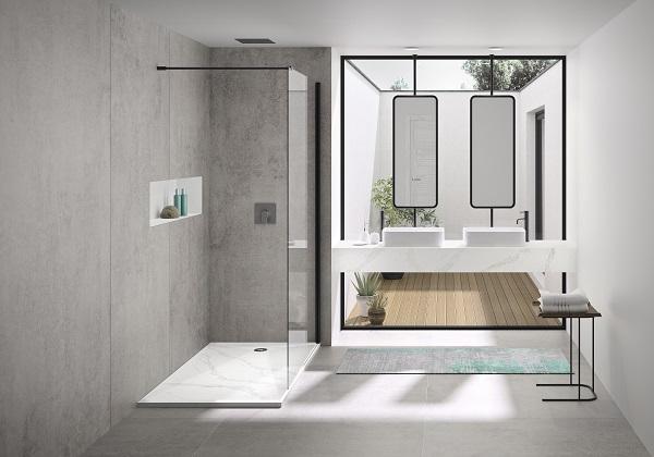 Complementi per il bagno della collezione Silestone Bathroom