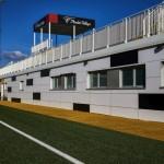 Isotec Parete per la ristrutturazione del centro sportivo Picchio Village