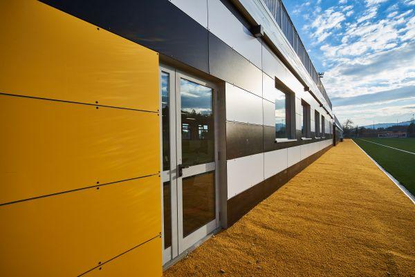 Per l'isolamento esterno del Picchio Village utilizzate le facciate ventilate