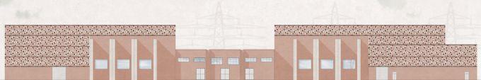 Prospetto della Nuova stazione elettrica Terna a Suvereto