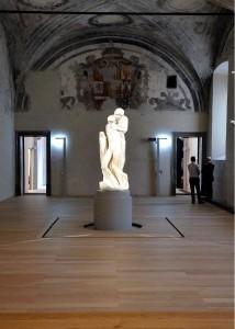 Pietà Rondanini al nuovo museo del Castello 1