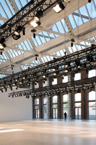 Gli interni di Gucci Hub a Milano