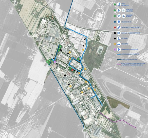 Interventi nel progetto di rigenerazione urbana del quartiere del Bargellino