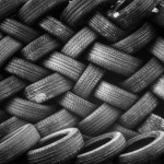 Riciclo pneumatici fuori uso: la versatilità della gomma in edilizia