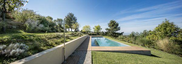 Podere Boschetto Vista piscina