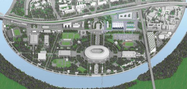 "Progetto ""Olympic Hub"" a Mosca"