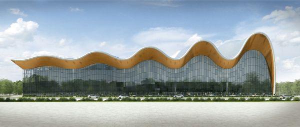 Olympic hub, il complesso che sta prendendo forma nel cuore del quartiere olimpico di Mosca