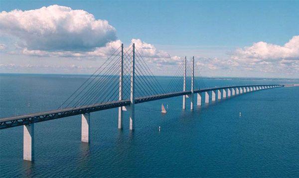 Ponte strallato di Øresund