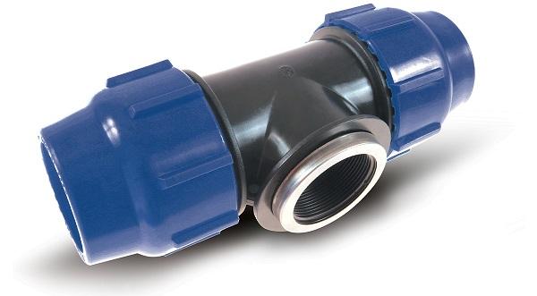 Raccordi a compressione per tubi in PE