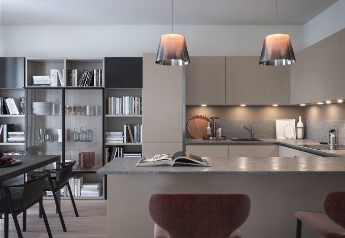 Uno degli interni del progetto immobiliare Princype a Milano