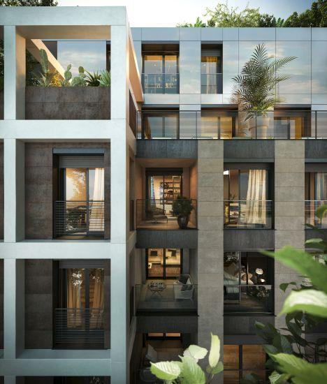 L'esterno del progetto immobiliare Princype a Milano