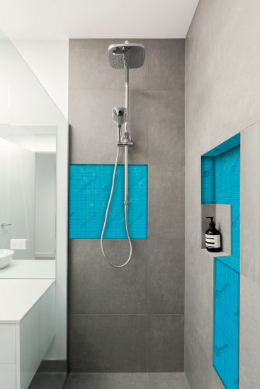 Profoil Panel System, pannelli leggeri: realizzazione nell'ambiente doccia