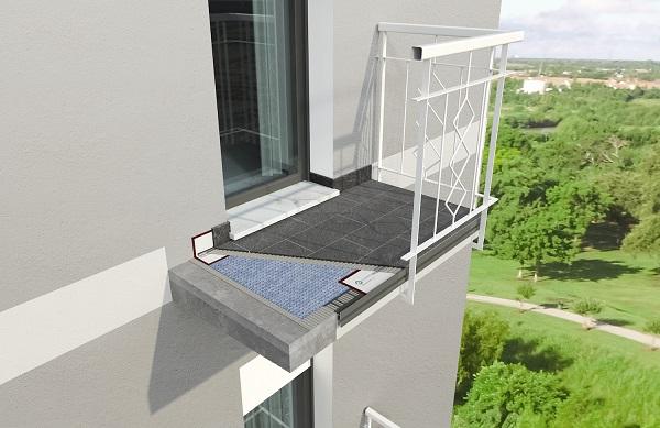 Le soluzioni Progress Profiles per ristrutturare il balcone