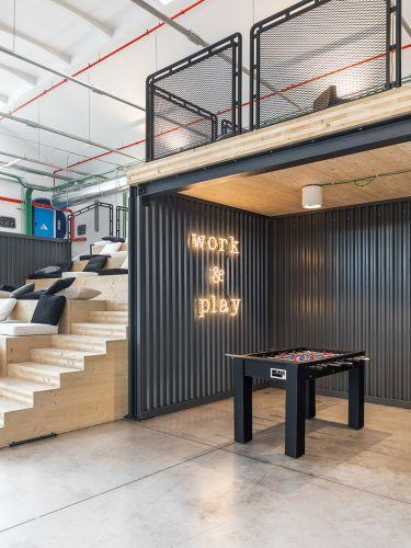 Nel nuovo Innovation Factory di Electrolux  c'è anche lo spazio per il relax