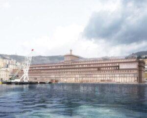 Hennebique, rinasce lo storico edificio di Genova
