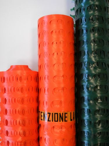 Rete In Plastica Per Cantiere.Reti Da Cantiere In Hdpe Per La Massima Sicurezza