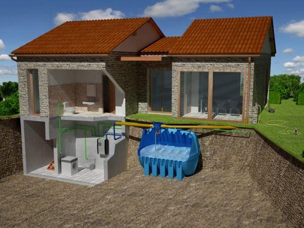 RIUSA è un impianto  per recupero e riutilizzo acque piovane per uso irriguo e domestico