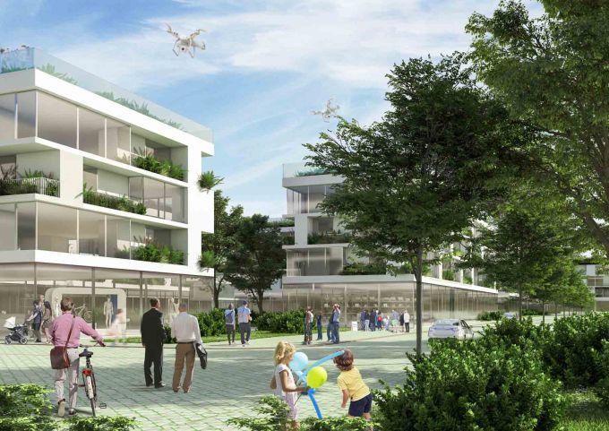 RIVERSIDE a Tirana, un progetto Stefano Boeri Architetti
