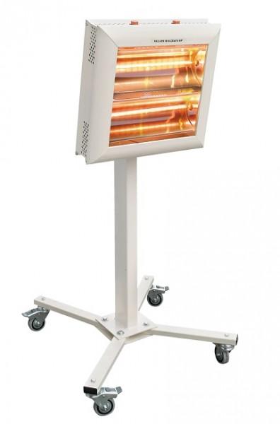 Riscaldatori Helios Radiant IRK mod. ROBOT, orientabile verticalmente