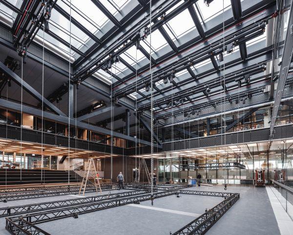 Gli spazi interni del DAC - Danish Architecture Center