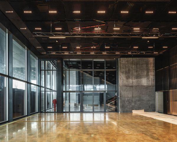 L'interno del DAC – Danish Architecture Center