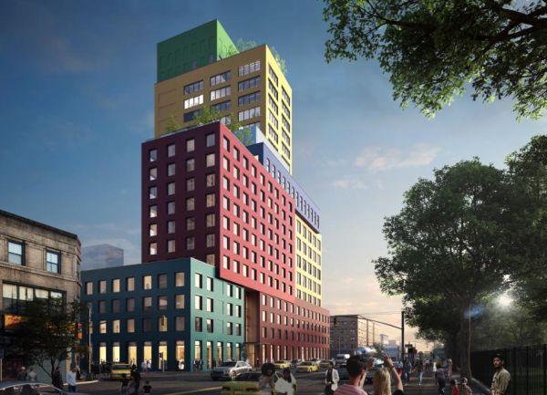 Forme colorate e divertenti per il Radio Tower & Hotel