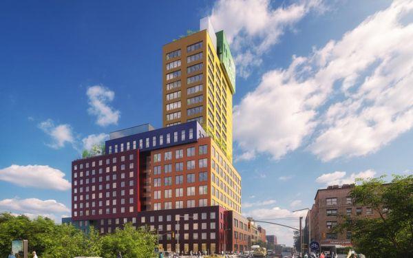 Forme colorate e divertenti per il Radio Tower & Hotel di Manhattan