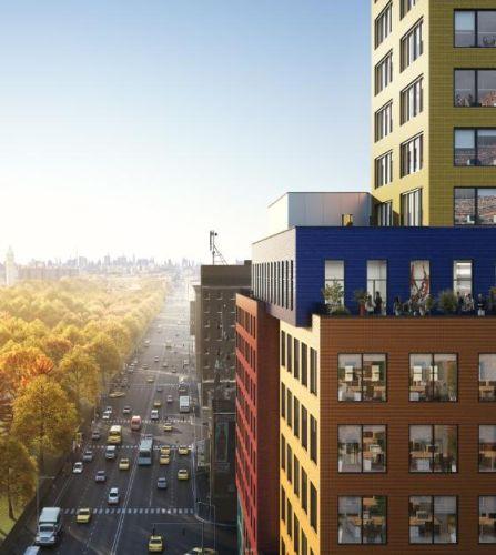 Il box blu del Radio Tower & Hotel ospiterà feste e matrimoni