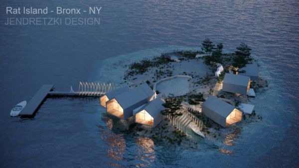 Rat Island, un eco resort di lusso ed ecosostenibilità a New York