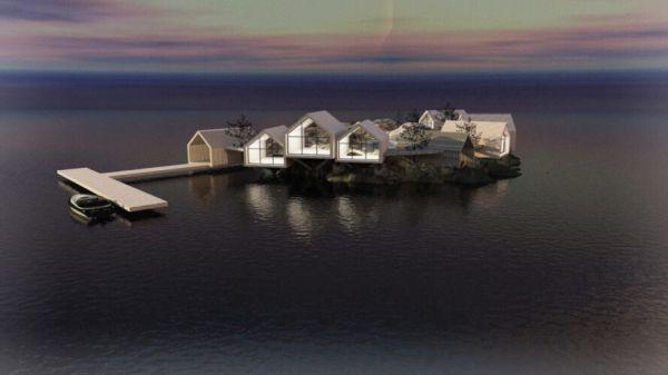 Rat island: Le capanne del resort sono alimentate da fonti di energia rinnovabile