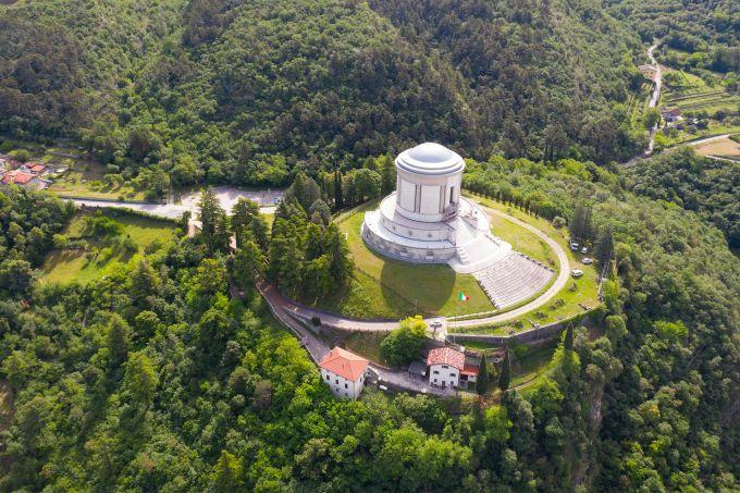 Zintek per il restauro del Sacrario di Castel Dante