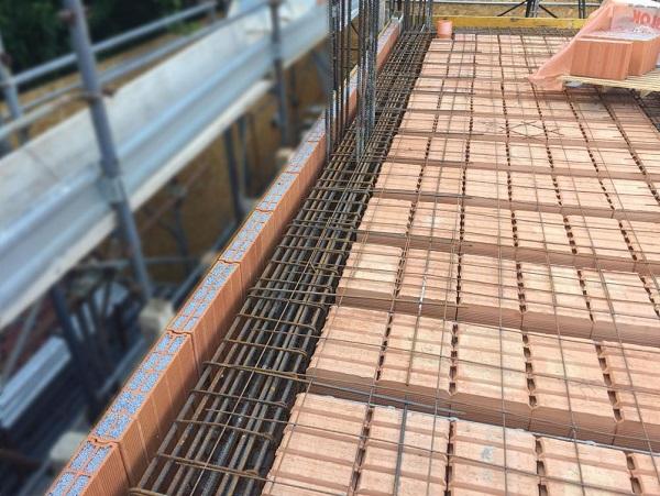 Realizzazione edificio con Normablok Più Ponti Termici