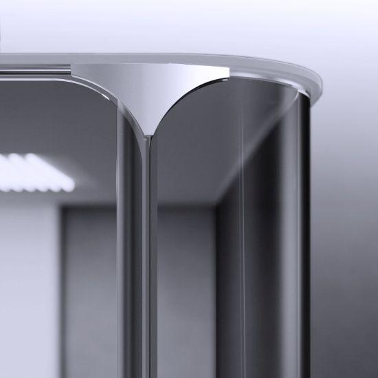 Cabina doccia Bobox di Relax con vetro curvo