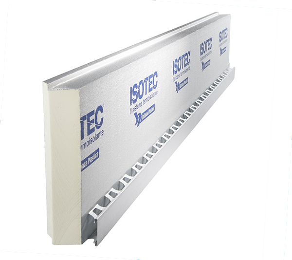 Sistema termoisolante ISOTEC PARETE