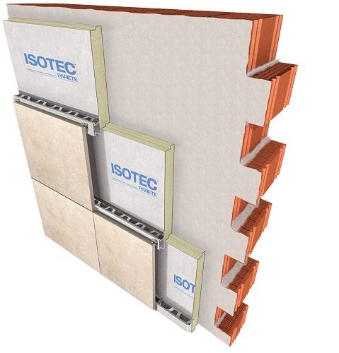Materiali del sistema termoisolante Isotec Parete