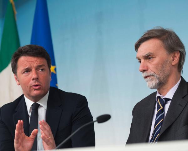 Il Premier Renzi ed il ministro Delrio illustrano i provvedimenti adottati dal Consiglio dei Ministri del 15 aprile 2016