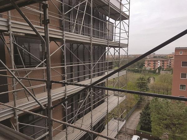 Riqualificazione della facciata