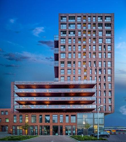 Torre residenziale dello studio Mei Architects