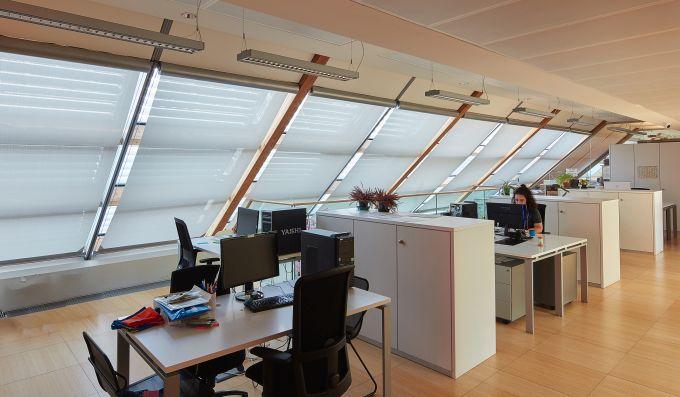 Schermature solari Resstende per gli uffici del MUSE