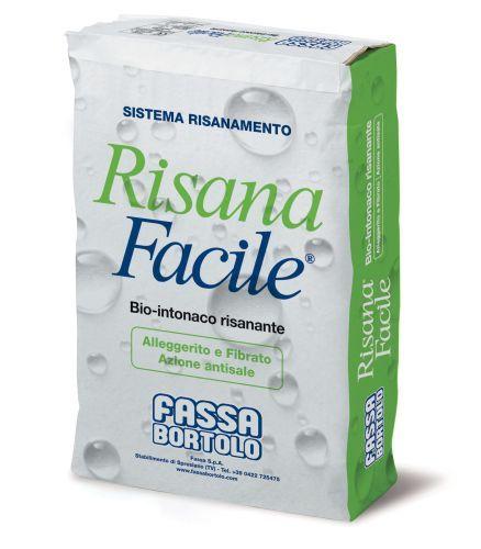 Risanafacile, Bio-intonaco fibro-rinforzato di Fassa Bortolo