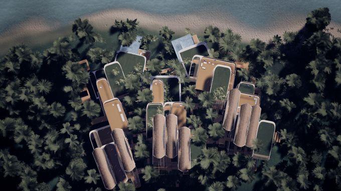 Roatán Próspera Residences_Exterior_Top_AerialSitePlan