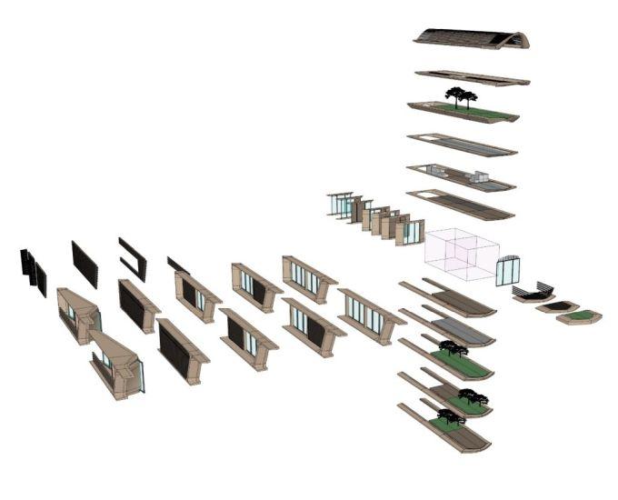 Roatán Próspera: kit del modulo compositivo