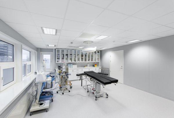 Pannelli Rockfon MediCare: alte prestazioni per ambienti medici
