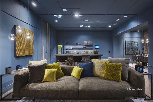 Porta scorrevole Scrigno per l'installazione Fuori salone Roof View 4.0