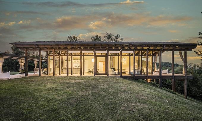 Il progetto della casa Rubner Haus