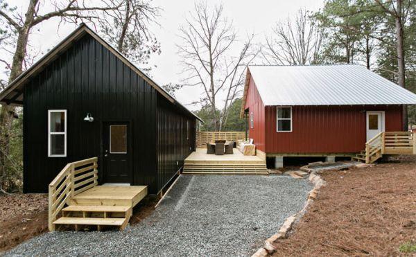 Rural Studio, progetto di micro case pensate per l'autocostruzione
